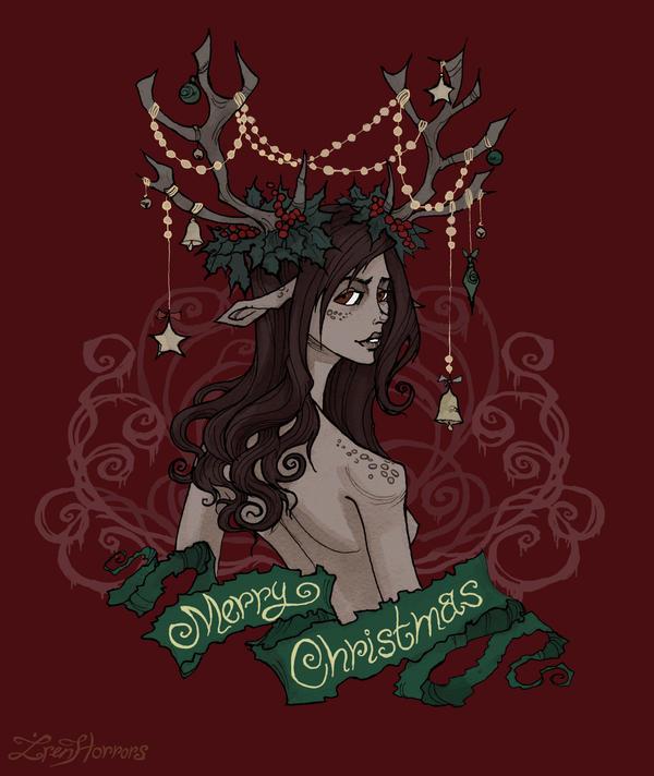 A Very Merry Borik�n Christmas: Merry Christmas By IrenHorrors On DeviantArt