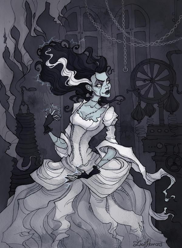 Bride Of Frankenstein Cake Pops