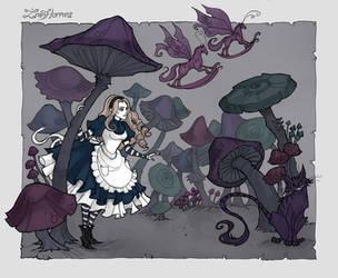 Mushroom Forest by IrenHorrors