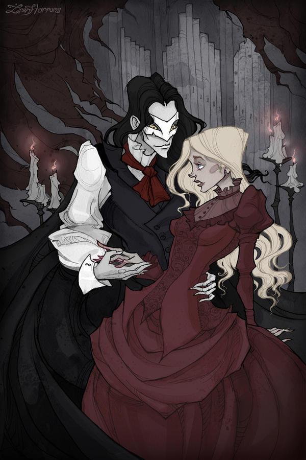 The Phantom Of The Opera By Irenhorrors On Deviantart