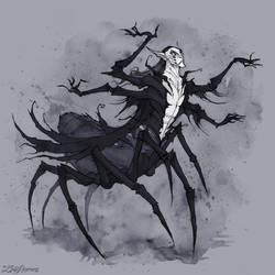 Spider King by IrenHorrors