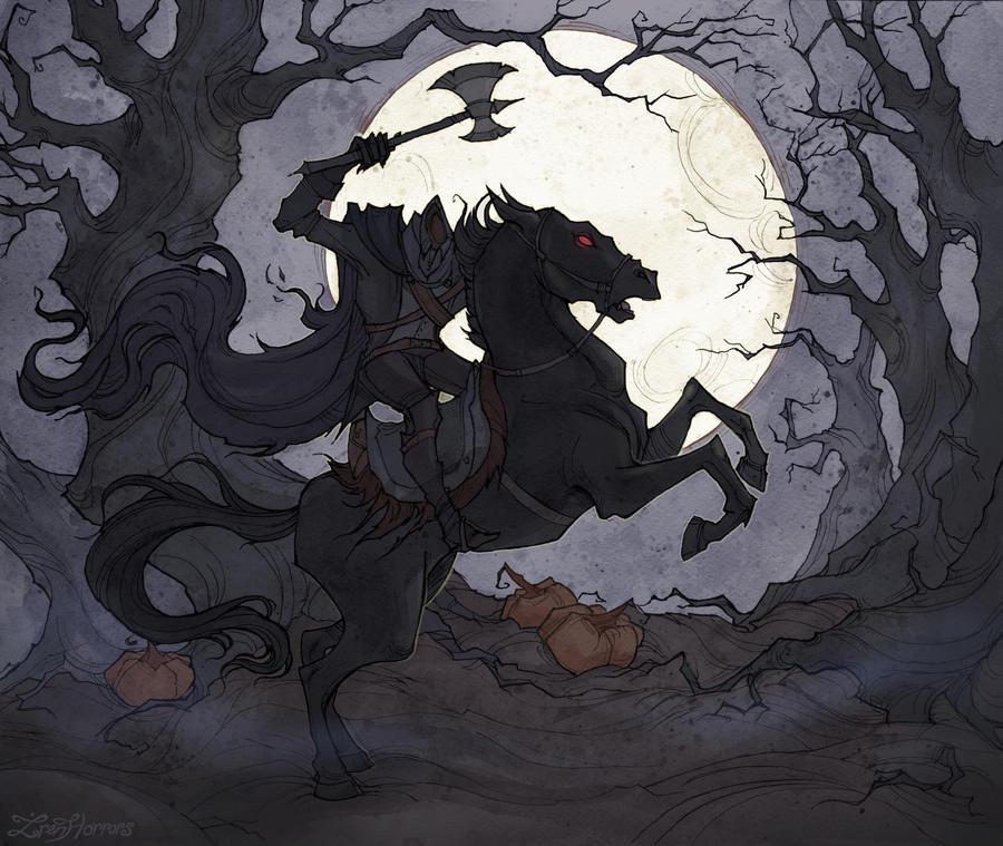 Sleepy Hollow Headless Horseman: The Headless Horseman By IrenHorrors On DeviantArt