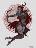 Sagittarius by IrenHorrors