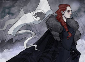 Sansa Stark by IrenHorrors