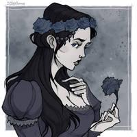 Lyanna Stark by IrenHorrors