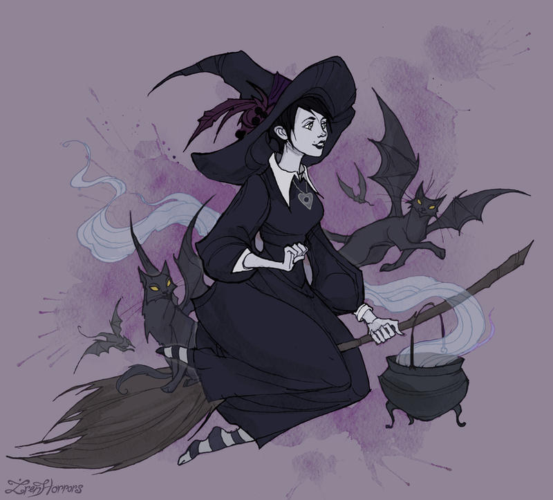 Witchsona by IrenHorrors