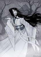 Yuki-Onna by IrenHorrors