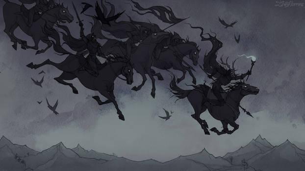 Wild Hunt by IrenHorrors