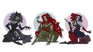 DC Villain Girls
