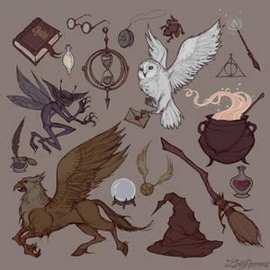 Hogwarts pattern