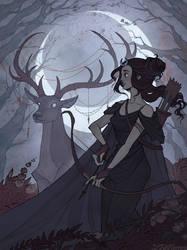 Artemis by IrenHorrors
