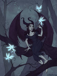 Fairy Evening by IrenHorrors