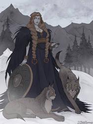 Freya by IrenHorrors