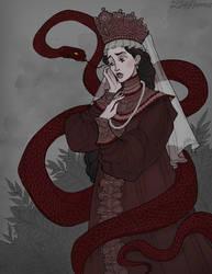 Serpent's Bride by IrenHorrors