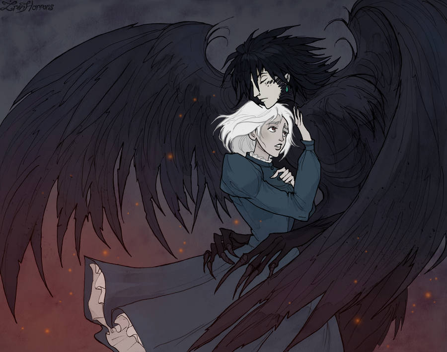 Howl and Sophie by IrenHorrors