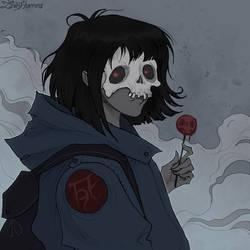 Dead Girl by IrenHorrors