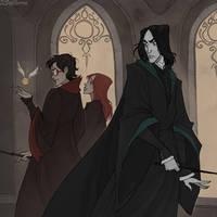 Rivals by IrenHorrors