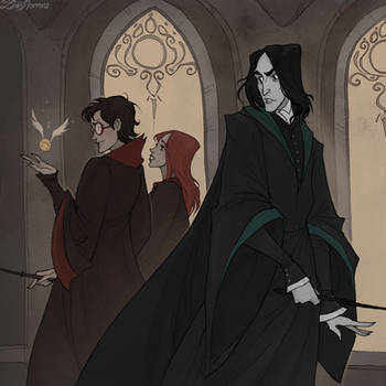 Rivals by IrenHorrors