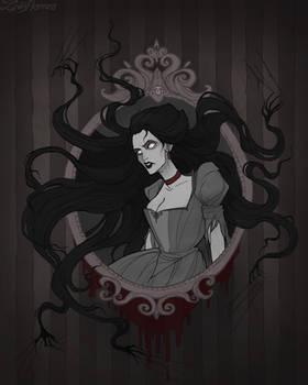 Drawlloween Haunted Mirror