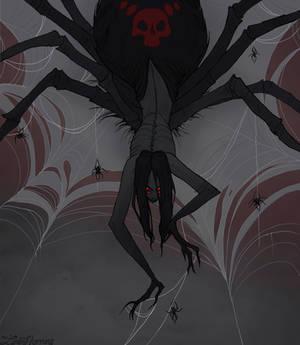 Drawlloween Spider