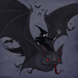 Drawlloween Bat