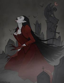 Drawlloween Vampire