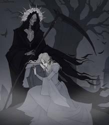 Drawlloween Grim Reaper