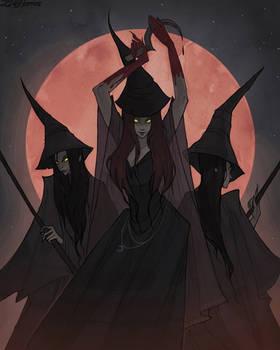 Drawlloween Blood Moon
