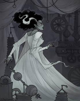 Drawlloween Bride