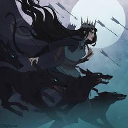 Drawlloween Huntress