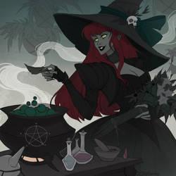 Drawlloween Poison