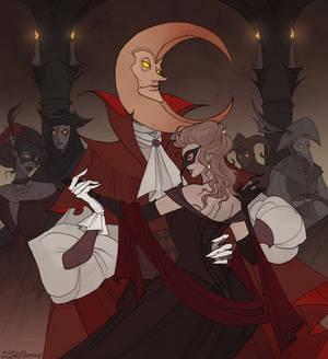 Drawlloween Masquerade