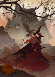 Autumnal Day by IrenHorrors