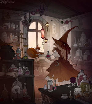 Apothecary Witch