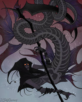 Grim Reaper Mermaid