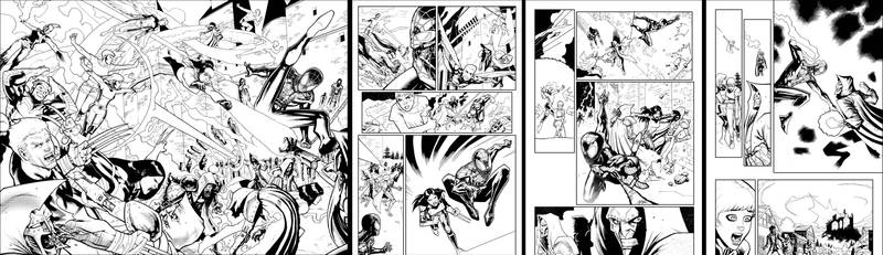 Xmen and Spidey sample pages Updated