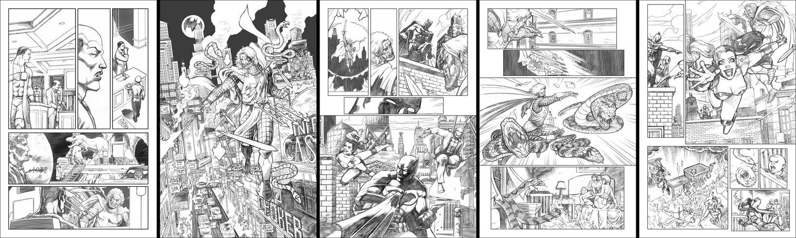 The Dark Knight Sample Returns by butchmapa