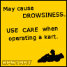 May cause DROWSINESS. by MetalLink