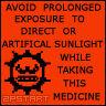 AVOID PROLONGED EXPOSURE
