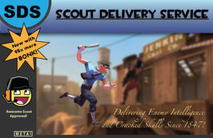 Scout Poster by MetalLink