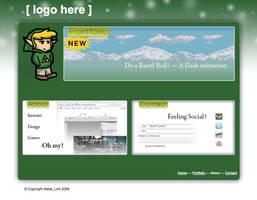 Personal Website Design by MetalLink