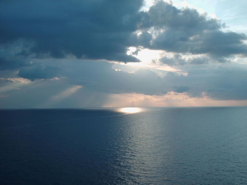 Sea And Sky By KittyBlues On DeviantArt