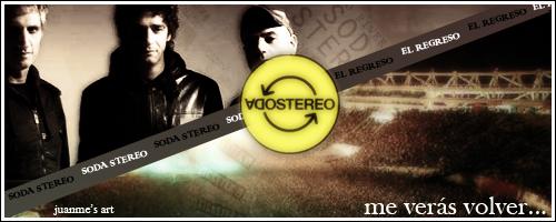 Soda Stereo - El Regreso by Juanme