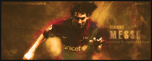 Lionel Messi Version 2 by Juanme