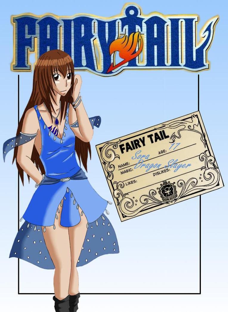 Fiche Oc Fairy Tail Sora Silverblue By Japanzelda On
