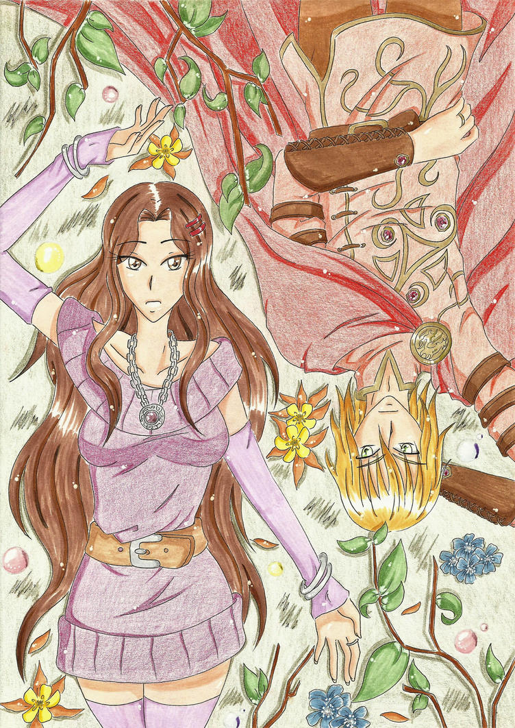 [AP] Couverture Tome 1 by JapanZelda
