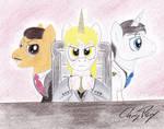 Horse, Goldenblood and  Trottenheimer (FoE:PH)