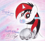 Happy Hearts and Hooves Day with Blackjack