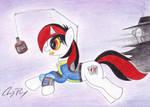 Blackjack and her Wild Pegasus