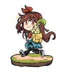 Going on a pokemon adventure by Deiiki